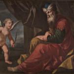 Figura maschile con amorino (Filosofo?)