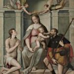 Madonna con Bambino e i Santi Sebastiano e Rocco