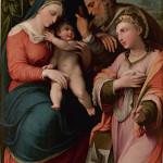 Sacra Famiglia con Santa Caterina d'Alessandria