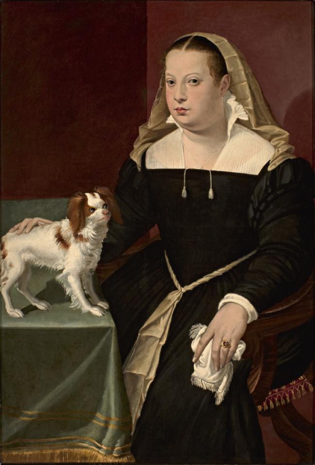Ritratto di dama con cagnolino